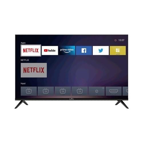 """TV LED SMART-TECH 50"""" WIDE SMT50S10UV2L1B1 SMART-TV 4K LINUX DVB-T2/S2 UHD 3840X2160 BLACK CI SLOT 3XHDMI 2XUSB VESA"""