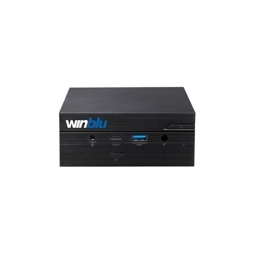 MINI-PC WINBLU EASY L7 0260W10 0.65LT INTEL CORE I7-10510U 16GBDDR4/2666 500M.2/NVME GLAN+WIFI+BT CR W10PRO/64 T+M 2Y ON SITE